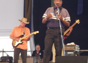 Bob w/ James Rivers Jazz Fest '09
